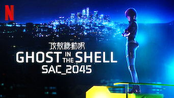 Is Ghost In The Shell Sac 2045 Season 1 2020 On Netflix Spain